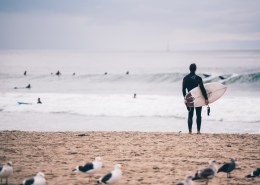 What are the best surfing beaches in the US?